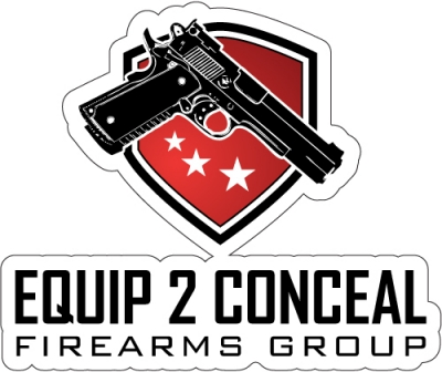 Equip 2 Conceal Decal 3X4